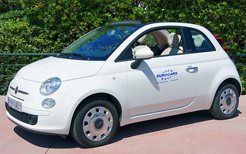 Photo Fiat 500 Cabrio automatic