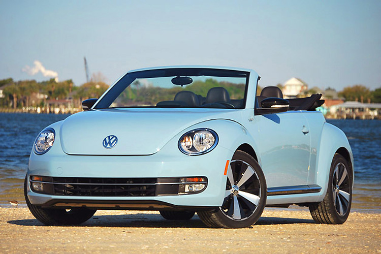 VW Beetle Cabrio automatic