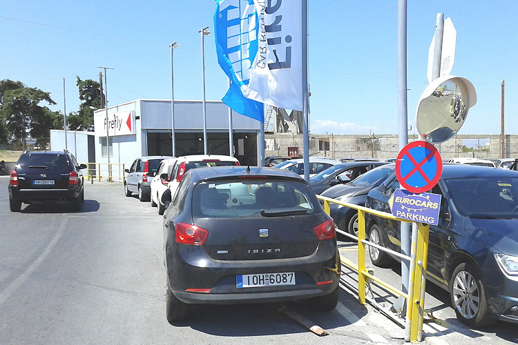 The first signpost pointing to Eurocars' place