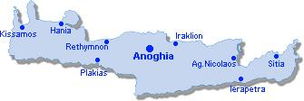 Anoghia: Site Map