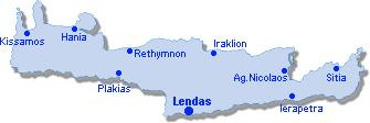 Lendas: Site Map