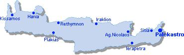 Palekastro: Site Map